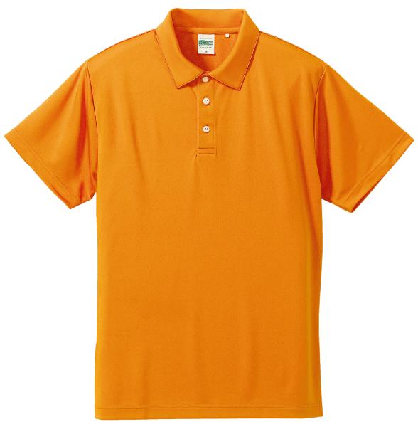 ドライシルキータッチポロシャツ