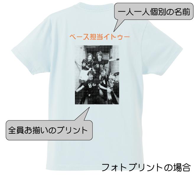 忘年会Tシャツ_フォトプリント