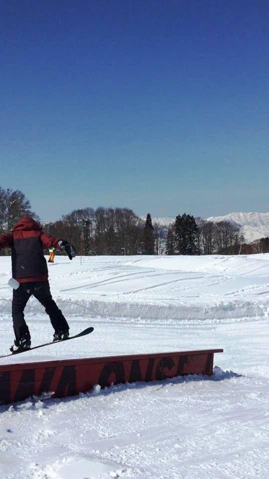 スノーボードレール