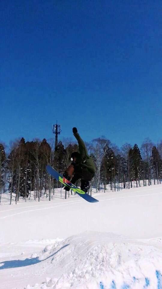 スノーボードキッカー