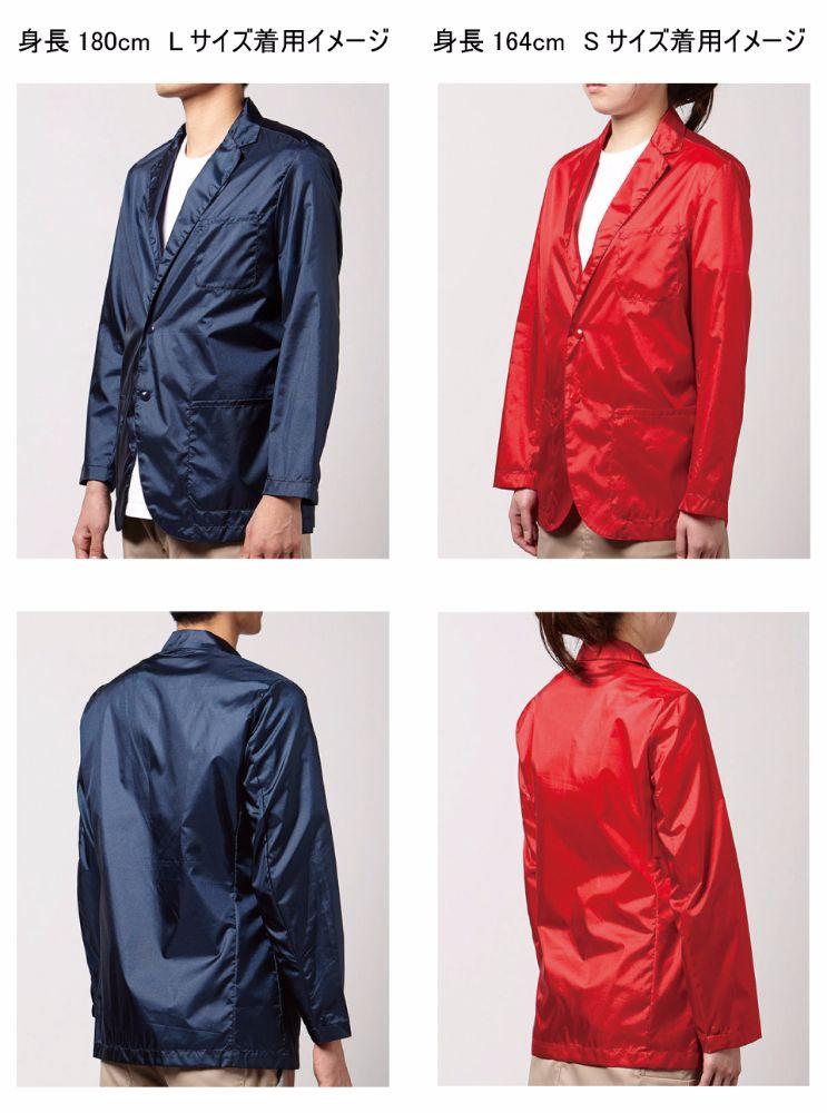 テーラードジャケットサイズ感