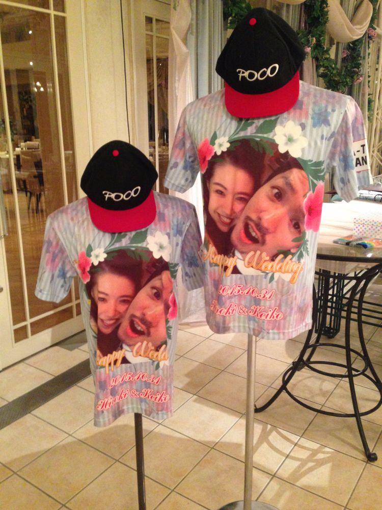 結婚式Tシャツ