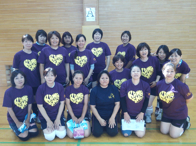 神奈川県 川崎商業PTAバレー部様(チームTシャツ)