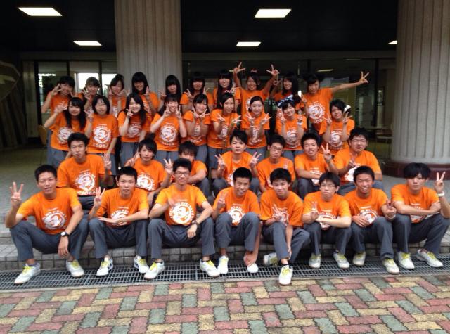 富山県 福岡高等学校 32H(クラスTシャツ)