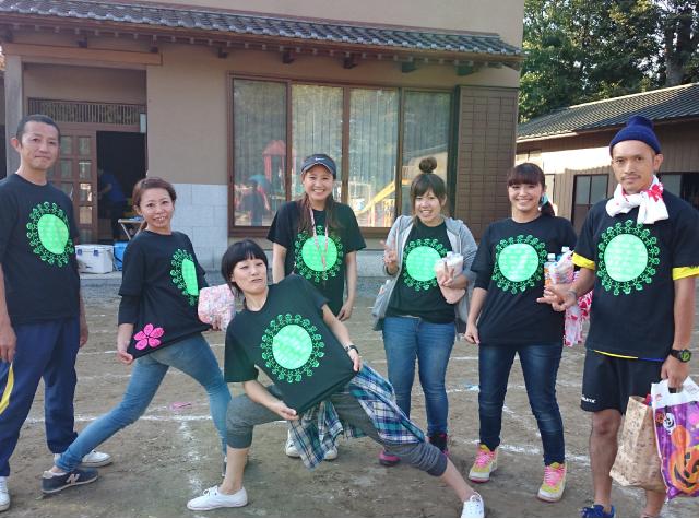 千葉県 まんまる保育園 さくら組様(クラスTシャツ)