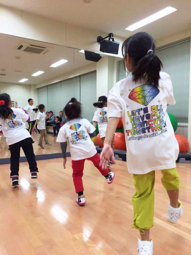 キッズダンス_オリジナルTシャツ