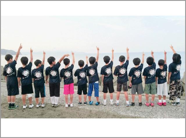 千葉県 野田南部ルーキーズ様(チームTシャツ)