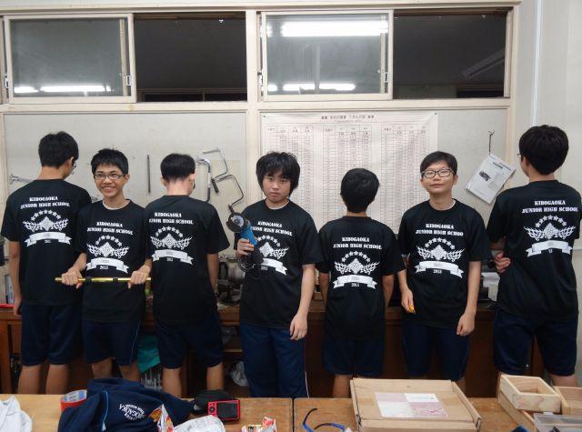 神奈川県 希望が丘中学校技術部(チームTシャツ)