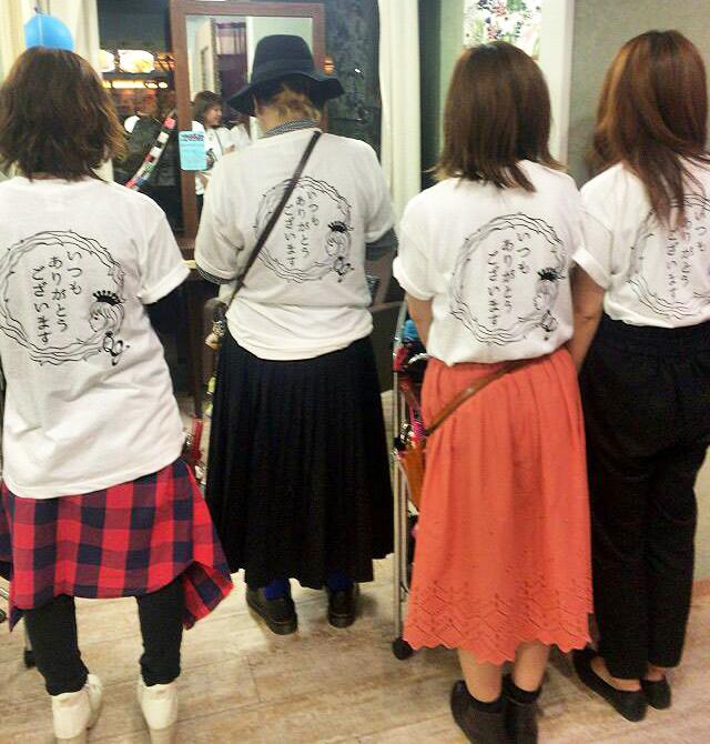 美容院イベントTシャツ