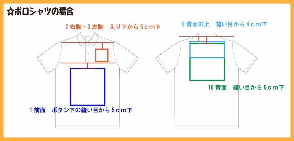 ポロシャツ基準