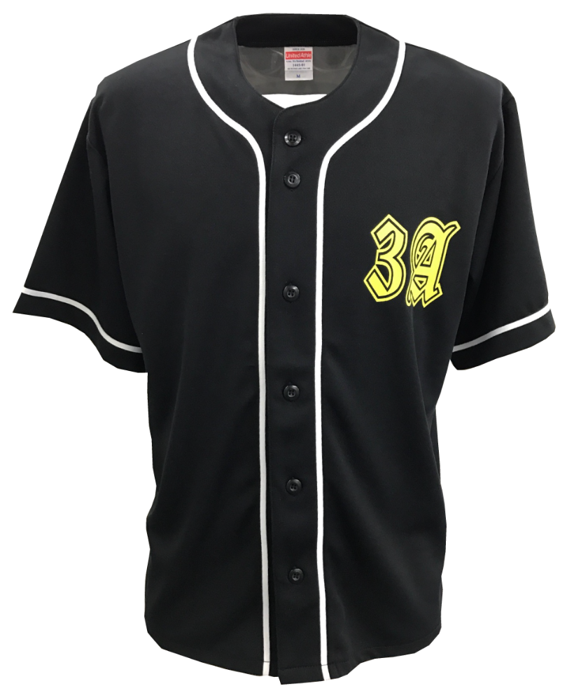 オリジナルベースボールシャツ