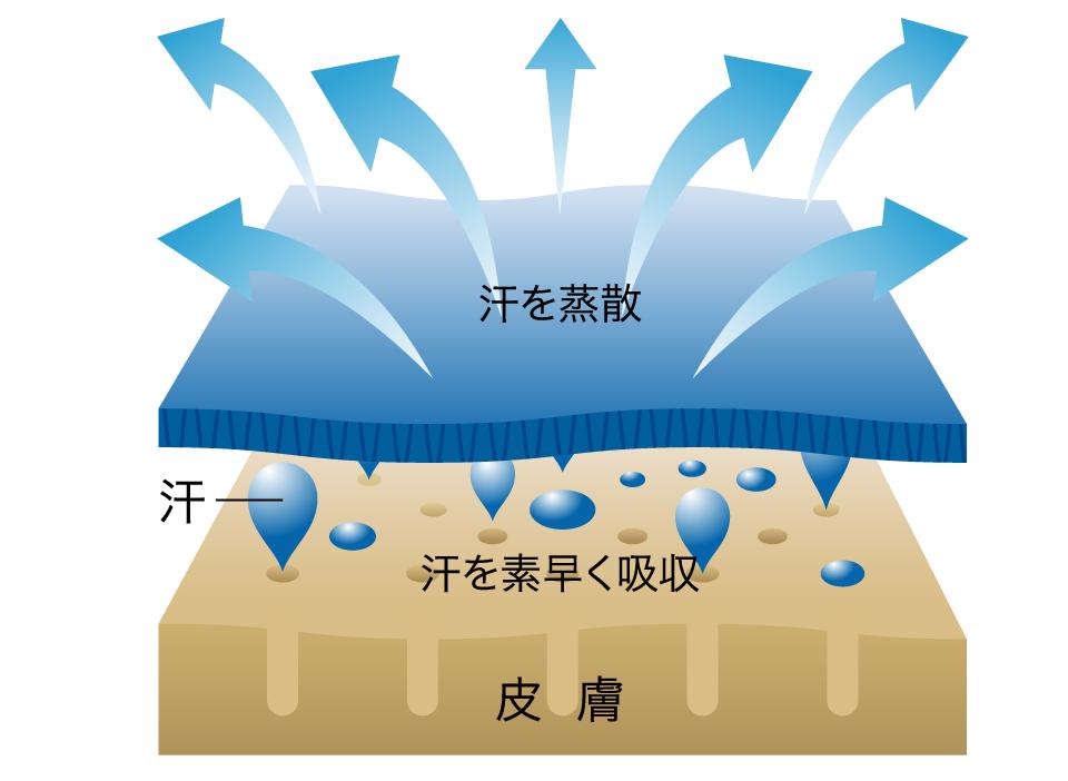 吸水速乾機能