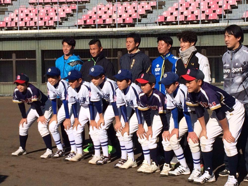 野球教室_集合写真