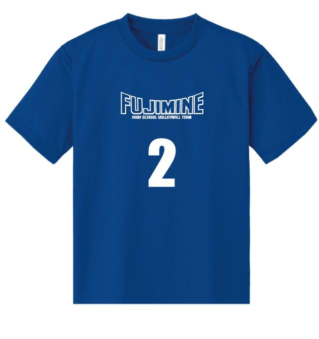2色プリントTシャツ