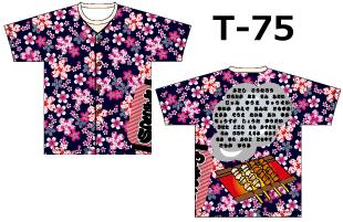 スーパーオリジナル専用デザイン T-75