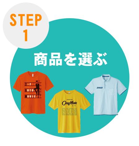 ご注文方法step1 お気に入り商品を探します