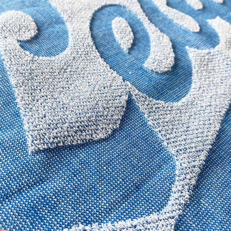 でこぼこ織りイメージ(表面)