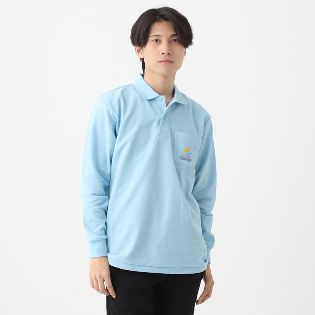 ロングスリーブポロシャツ|オリジナルプリント・刺繍・デザイン【クラTジャパン】激安作成!