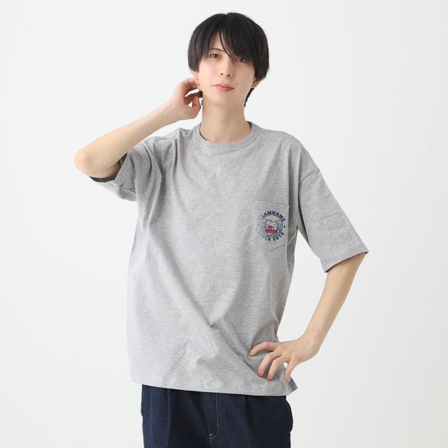 ポケつきビッグTシャツ