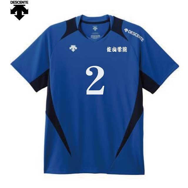 デサント VBカラーライト|オリジナル バレーボールユニフォームの激安作成【クラTジャパン】