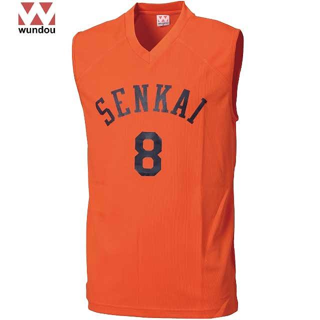 Wundou BKベースシャツ|オリジナル バスケットボールユニフォームの激安作成【クラTジャパン】