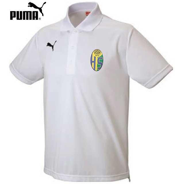 プーマ FBワンポイントポロ|オリジナルサッカーユニフォームの激安作成ならクラTジャパン