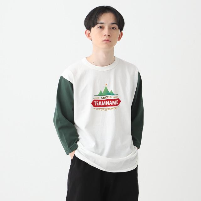 オープンエンドベースボールTシャツ
