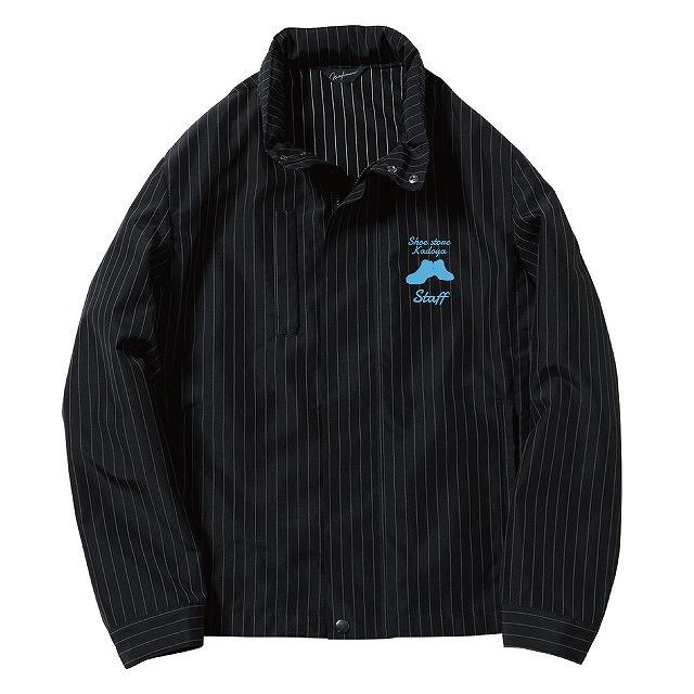 スタイリッシュジャケット(ストライプ) ブルゾン・ジャケットなどオリジナルウェア激安作成ならクラtジャパン