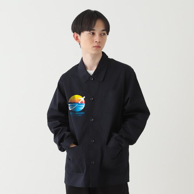 T/Cカバーオールジャケット|オリジナルプリント・デザイン【クラTジャパン】激安作成!