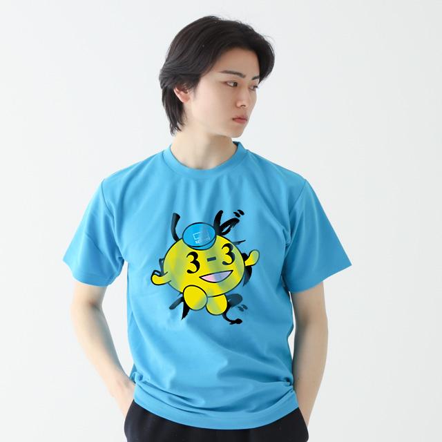 鹿の子クルーネックTシャツ[Printstar 117VPT]