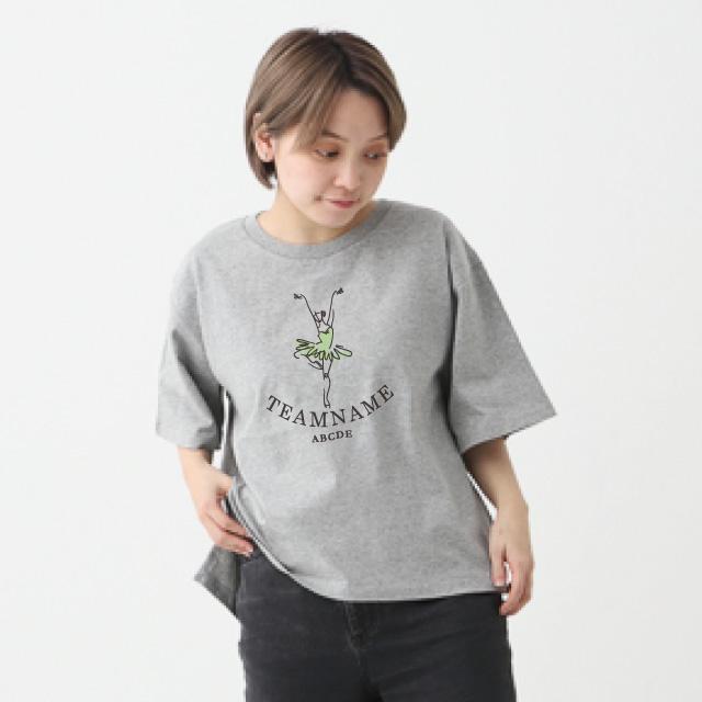 オープンエンドマックスウェイトウィメンズオーバーTシャツ[CROSS&STITCH OE1301]