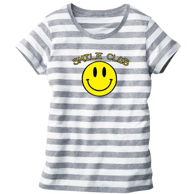ウィメンズボーダーTシャツ[TRUSS SBT-126]