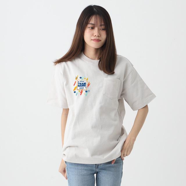 ポケット付スーパーヘビーウェイトTシャツ[LIFEMAX MS1157]