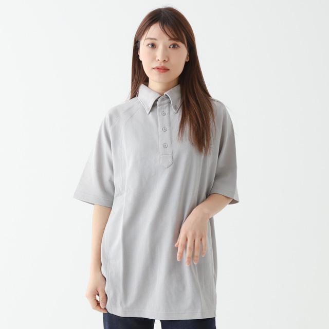 切替えしボタンダウンポロシャツ[TRUSS BDP-262]