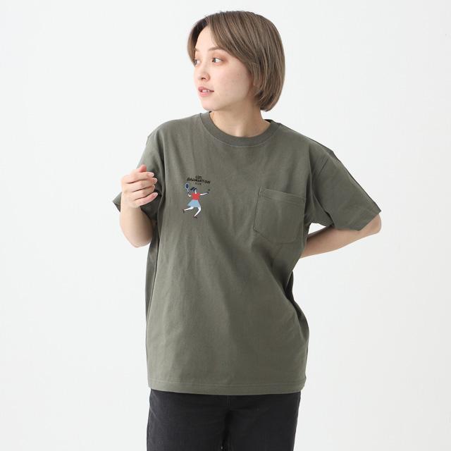 オープンエンドマックスウェイトポケットTシャツ[TRUSS OE1117]
