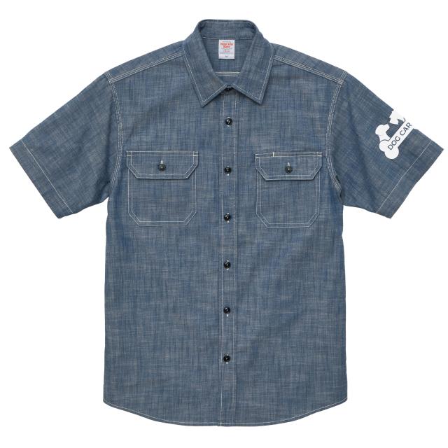 T/Cシャンブレーワークシャツ[United Athle 1783]