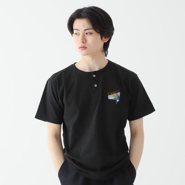 ヘンリーネックナイスTシャツ[Printstar 104CHN]