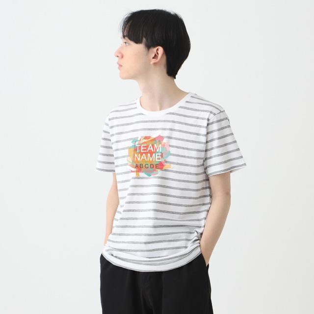 ナローボーダーTシャツ|オリジナルプリント・デザイン【クラTジャパン】激安作成!