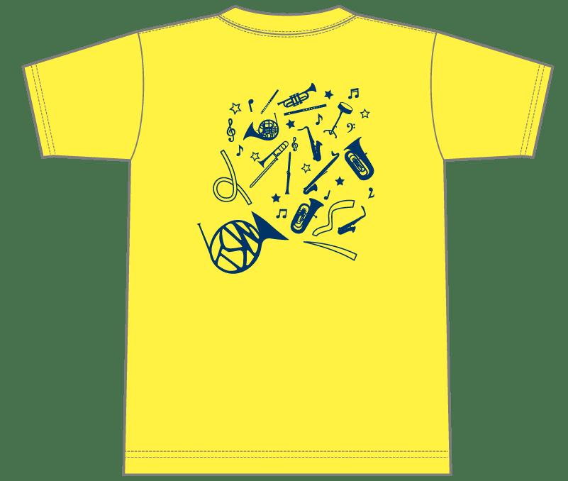オリジナルデザイン例|東京都 多摩スマイル吹奏楽団様