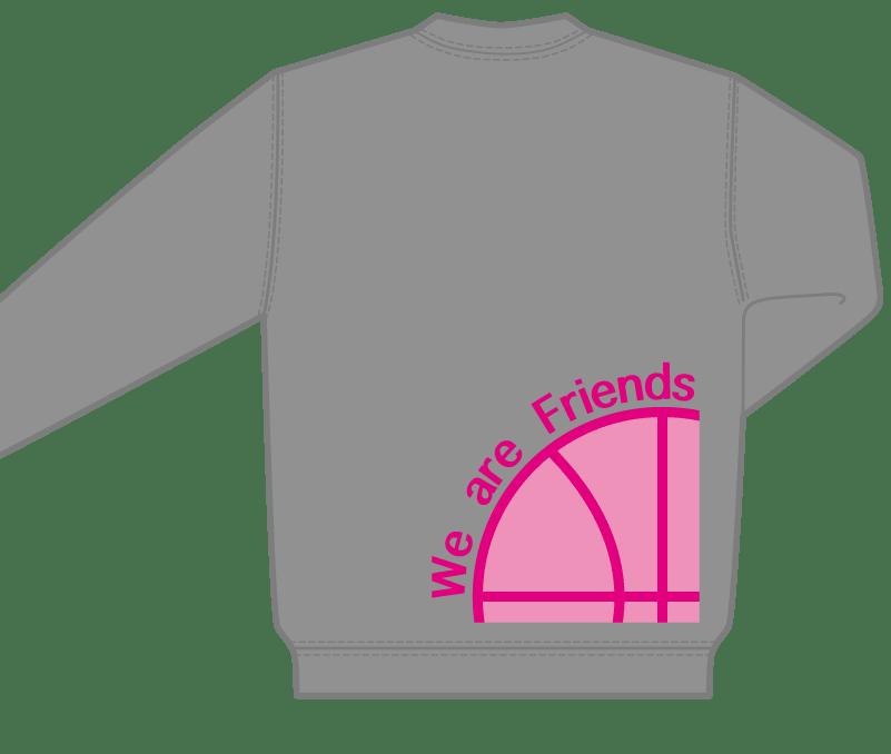 オリジナルデザイン例|神奈川県 ミニバスケットボールクラブ西菅田フレンズ様