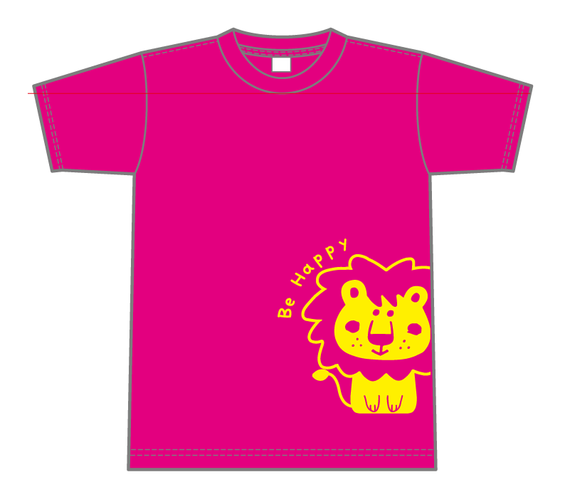 オリジナルデザイン例|埼玉県 岸町保育園らいおん組様