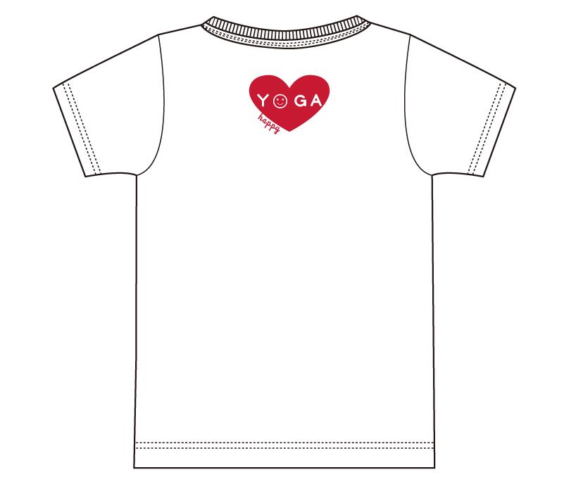 オリジナルデザイン例 福井県 ヨガスタジオ柳田Tシャツ作成部様