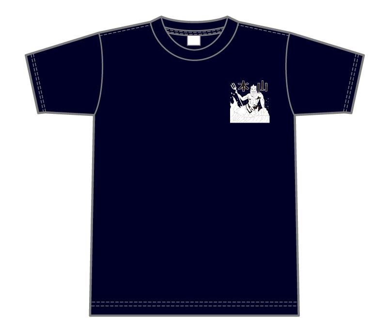 オリジナルデザイン例|兵庫県 本山中学校水泳部様