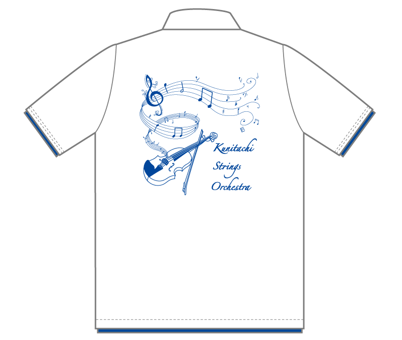 オリジナルデザイン例|東京都 国立高等学校弦楽合奏部様