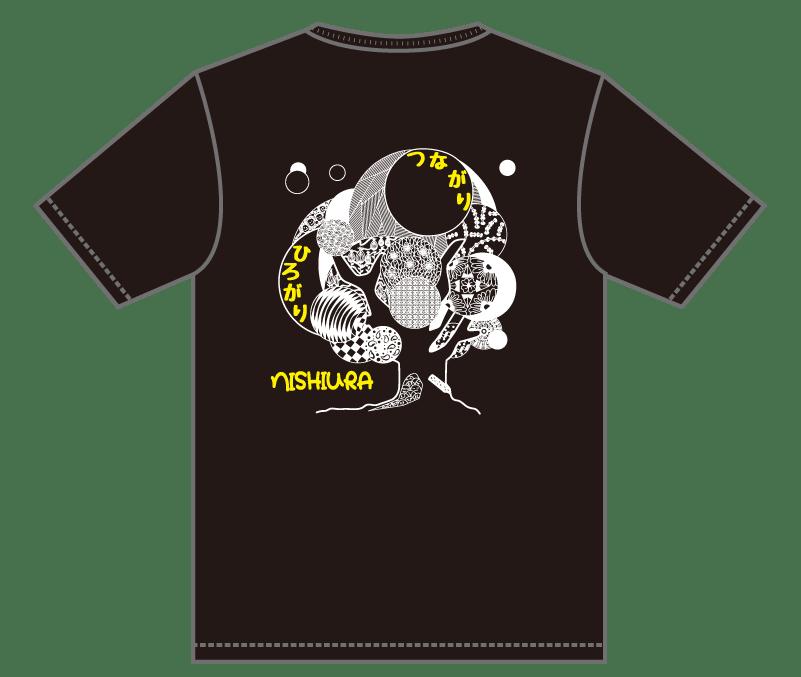 オリジナルデザイン例|大阪府 西浦小学校6年1組・2組様