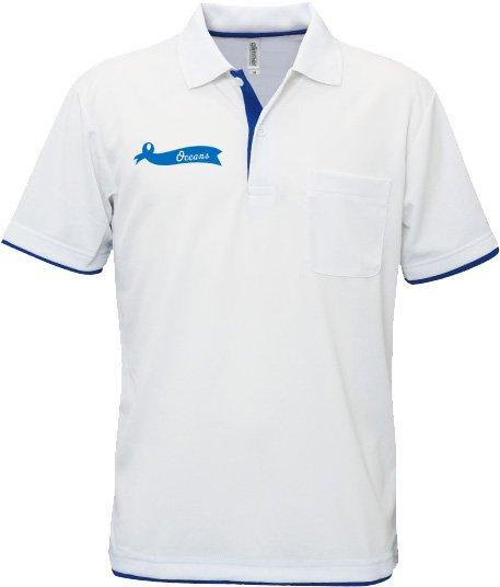 レイヤードドライポロシャツ